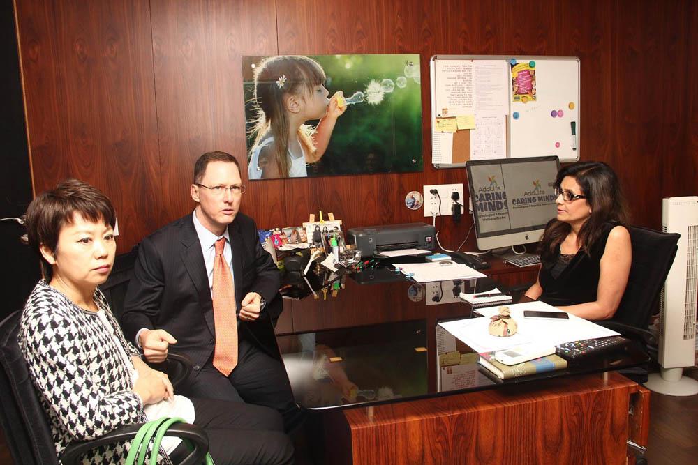 American Consul general visit