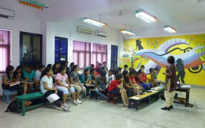 Workshop on Goal Setting Calcutta International School