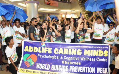 Flashmob: Suicide Prevention Week