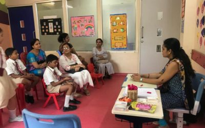Caring Minds conducted an awareness programme for children at Swarnim International School
