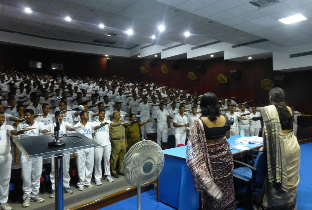 Swami Vivekananda State Police Academy Stress Management