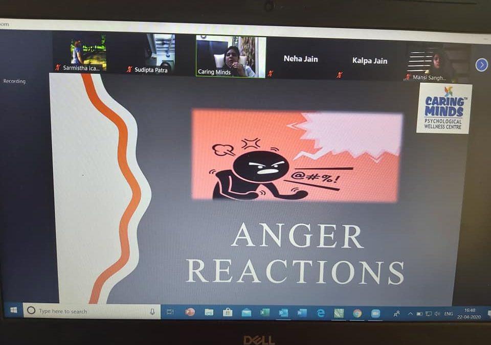 Workshop on Anger Management.