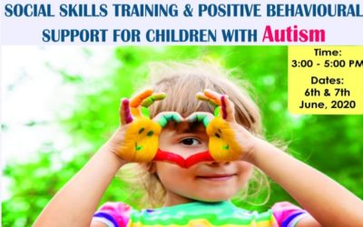 Workshop on Social Skill Training & Positive Behavioural Support For Students With Autism Spectrum Disorder