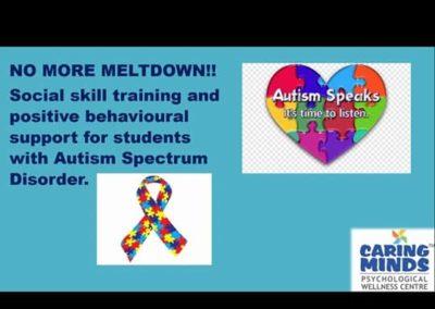 Workshop on Autism Spectrum Disorder