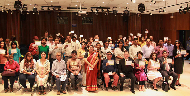 Interactive session on Breaking the Stigma regarding Mental Health at US Consulate