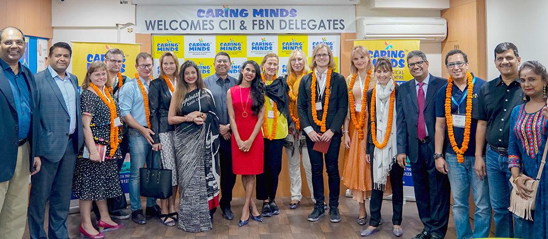 FBN Delegates Visit Caring Minds