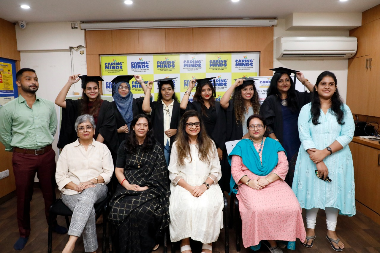 Akademia convocation for the 1 yr diploma in Psychological Counselling 1st batch 2019-2020 & 6 months certificate course in Psychotherapy 2nd batch 2020.